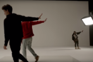 Francis and the Lights, Kanye West, and Bon Iver Film a Dance Sequence in 'Friends' Video
