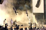 Tom Morello, Jimmy Chamberlin Perform With Jane's Addiction at Lollapalooza