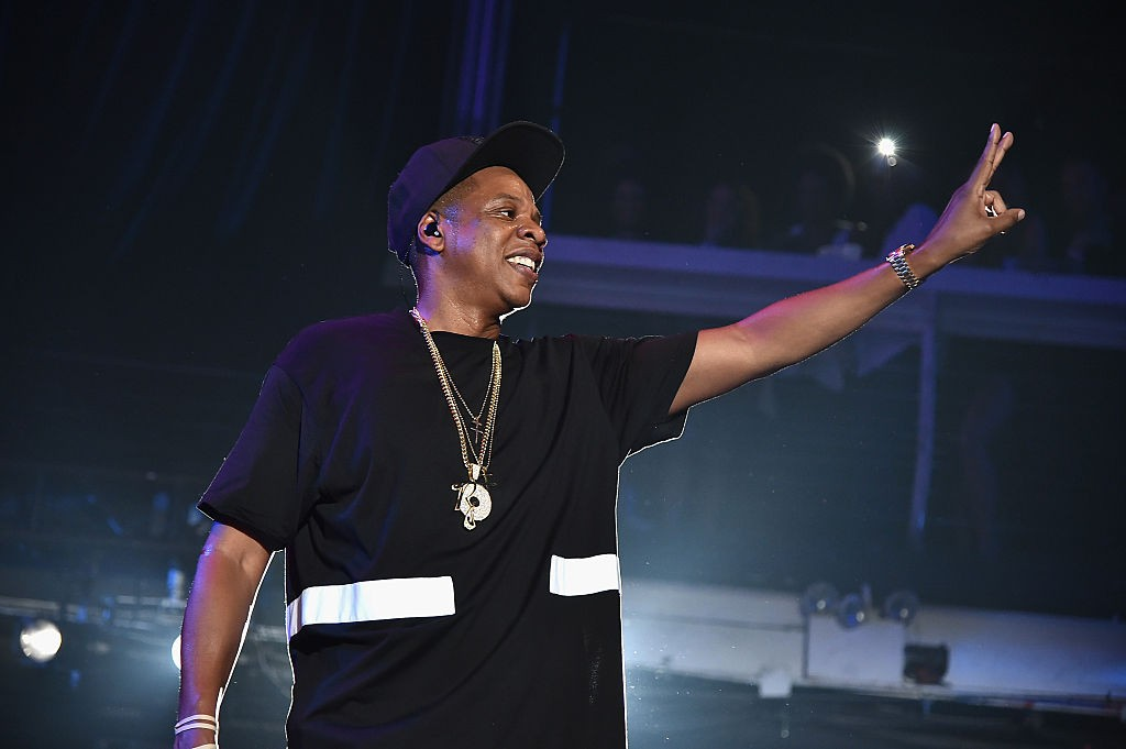TIDAL X: Jay-Z B-sides in NYC on May 17, 2015 in New York City.