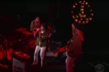 Jenny Lewis and Nice as F**k Channel the '60s Peace Movement on 'Colbert'