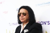 Gene Simmons Fell on His Ass Onstage This Weekend