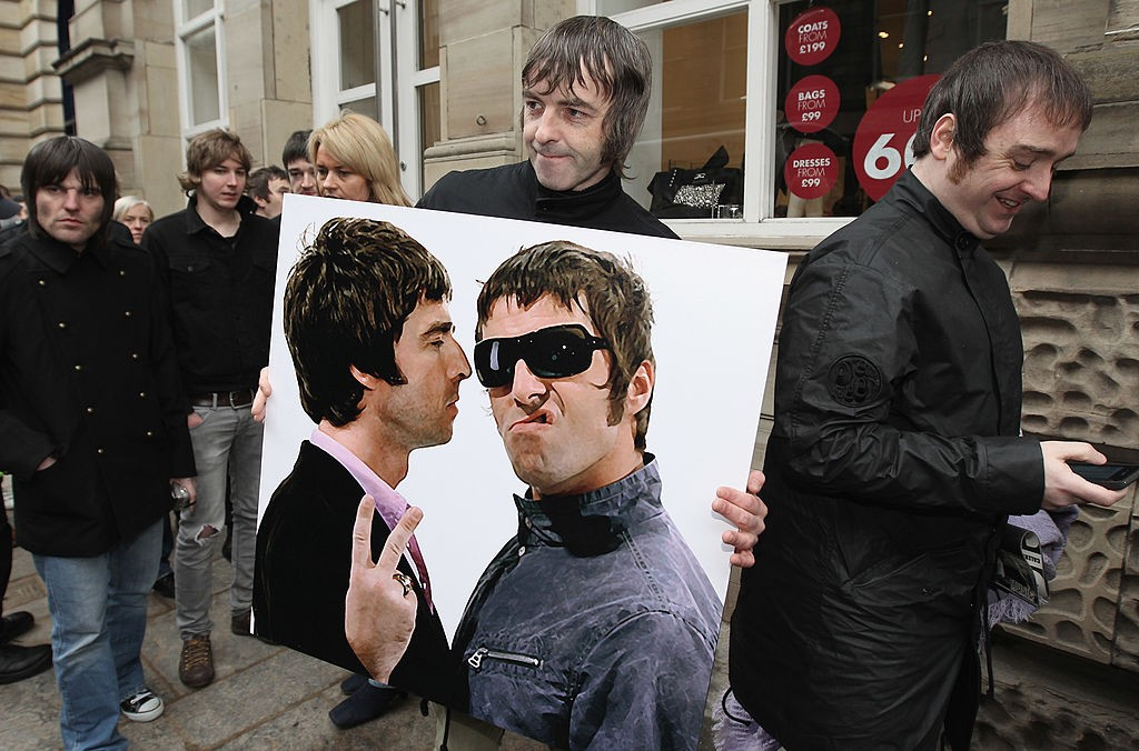 Liam and Noel Gallagher Will Never, Ever Stop Sniping at Each Other