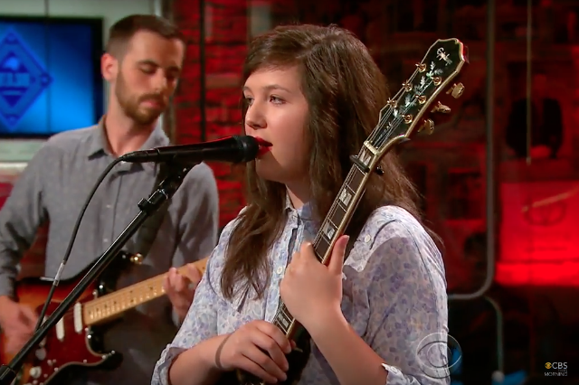 lucy dacus makes her national tv debut on cbs this morning spin. Black Bedroom Furniture Sets. Home Design Ideas
