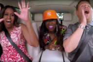 Michelle Obama and Missy Elliott Are the Ultimate 'Carpool Karaoke' Guests
