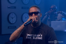 yg nipsey hussle fuck donald trump clean version nightly show larry wilmore video watch