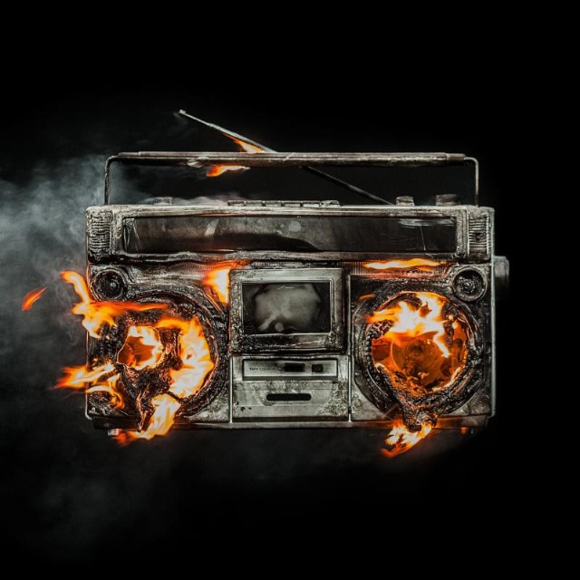 Image result for green day revolution radio album cover