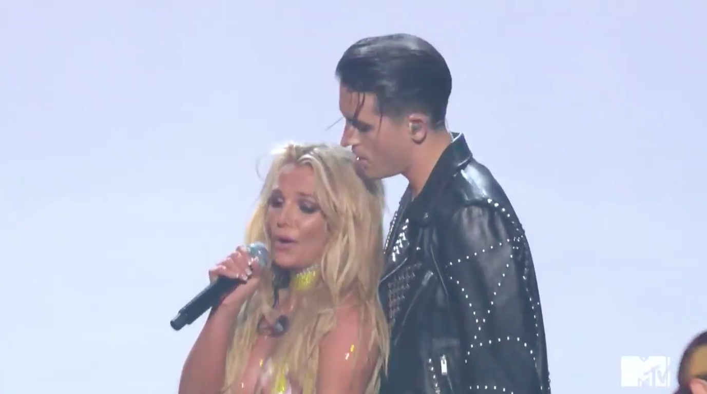 Britney Spears and G-Eazy