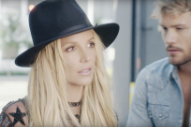 Britney Spears Goes Behind Her Own Scenes in Gauzy 'Make Me' Video