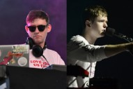 Hudson Mohawke and James Blake Are Having a Beef