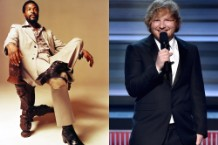 marvin gaye, ed sheeran, let's get it on, thinking out loud, ed townsend