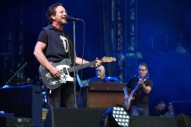 Watch Pearl Jam Cover Aerosmith and the Beatles at Boston's Fenway Park