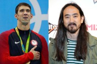 Michael Phelps Has Steve Aoki to Thank for All Those Medals