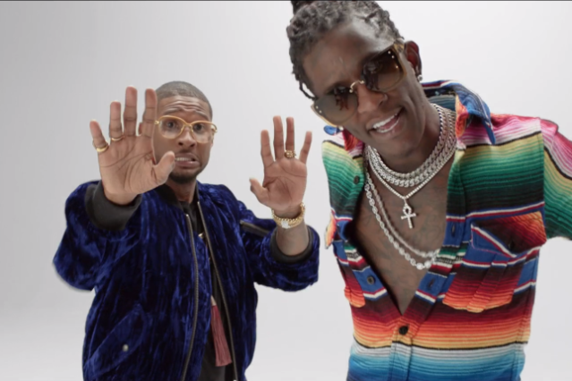 usher-young-thug-no-limit-video-stream