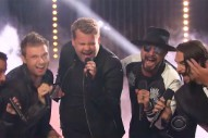 "Watch James Corden Horn in on the Backstreet Boys' ""Everybody (Backstreet's Back)"""
