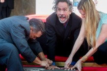 Tim Burton Hand And Footprint Ceremony