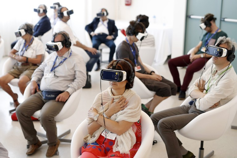 'Jesus VR - The Story Of Christ' Public Screening Experience - 73rd Venice Film Festival