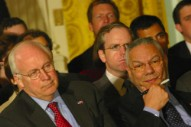 """Colin Powell Called Dick Cheney and His Daughter """"Idiots"""" in Leaked E-mails"""