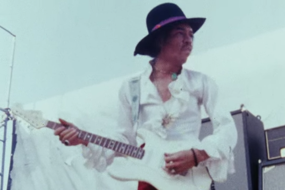 Remember When Jimi Hendrix Protested the National Anthem on a National Stage?