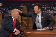 Jimmy Fallon Plays With Donald Trump's Hair, Laughs His Way to the Apocalypse