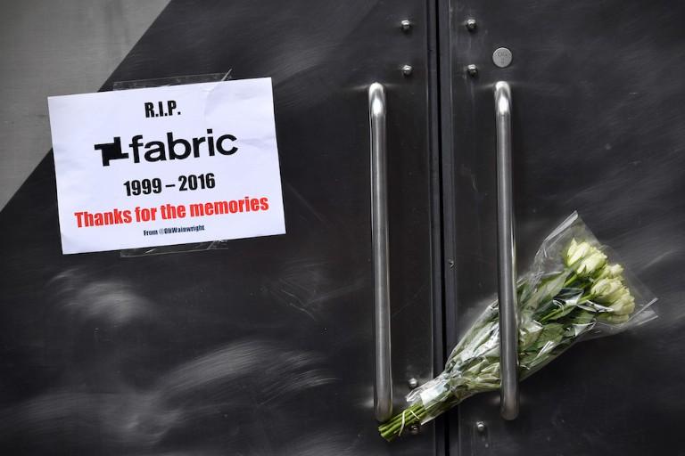 fabric, london club, closed