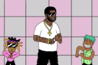 "Gucci Mane Gets Animated for ""All My Children"" Video"