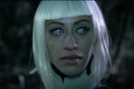 """John Carpenter's """"Utopian Façade"""" Video Pits an Android Against Zombies"""