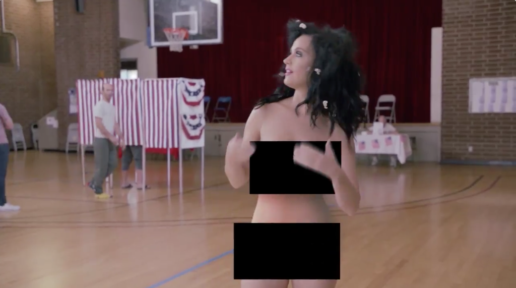 Katy Perry Strips To Convince You To Vote  Spin-5229