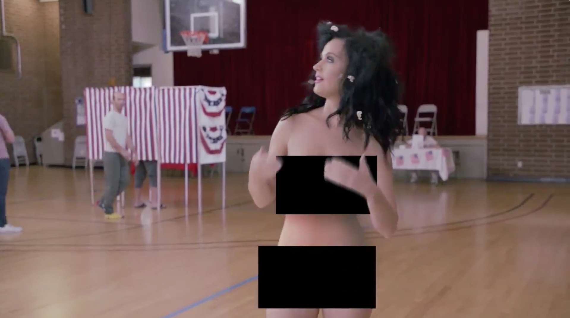 Katy Perry Strips to Convince You to Vote | SPIN