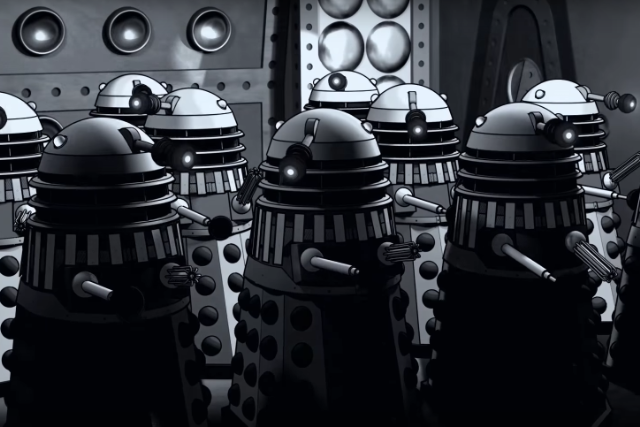 lost doctor who episodes recreated animated power of the daleks