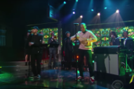 &#8220;Dang!&#8221; It&#8217;s Mac Miller and Anderson .Paak on <em>Colbert</em>