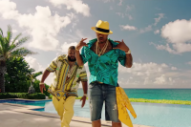 "DJ Khaled and Nas Palance in the Bahamas for ""Nas Album Done"" Video"