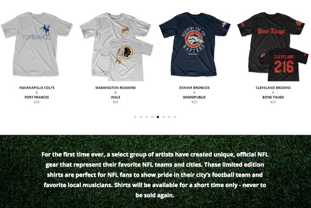 83b980e580a NFL music tshirt