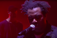 Sampha Debuts 'Blood on Me' on 'Colbert'