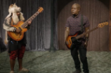 """Eric Andre Pits Thundercat and Robot Hannibal Buress Against Each Other in a """"Bass-Off"""""""