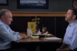 Watch Jimmy Kimmel and Tim Kaine Debate at Buffalo Wild Wings