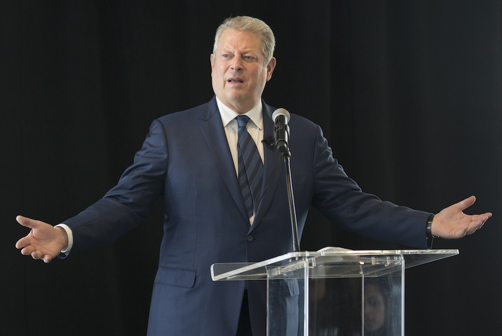 Al Gore Former Vice President of the United States attending