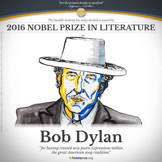 Αποτέλεσμα εικόνας για bob dylan nobel