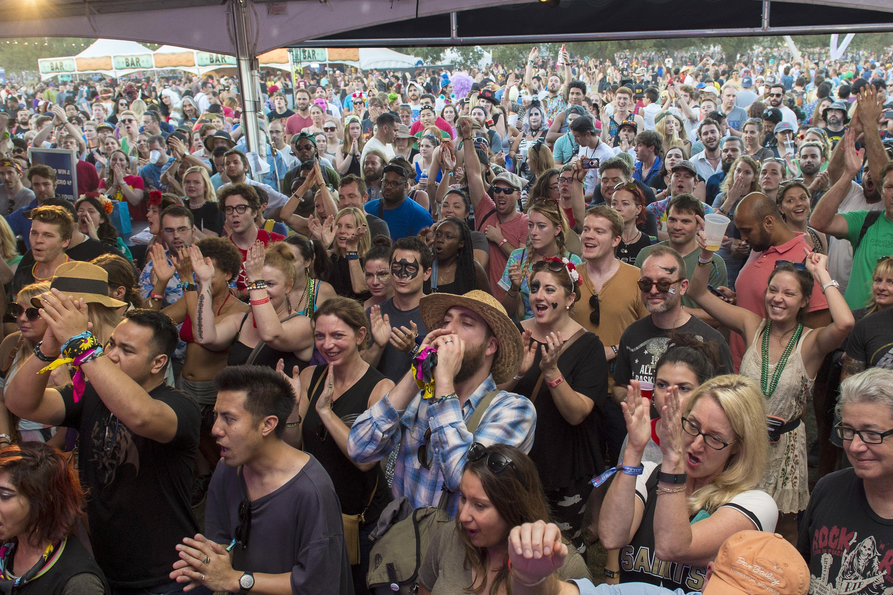 Toyota Music Den Crowd