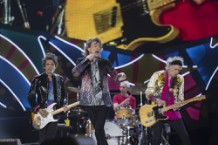 The Rolling Stones kick off their America Latina Olé Stadium Tour at Estadio Nacional in Santiago, Chile