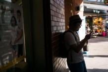 Man in iPhone