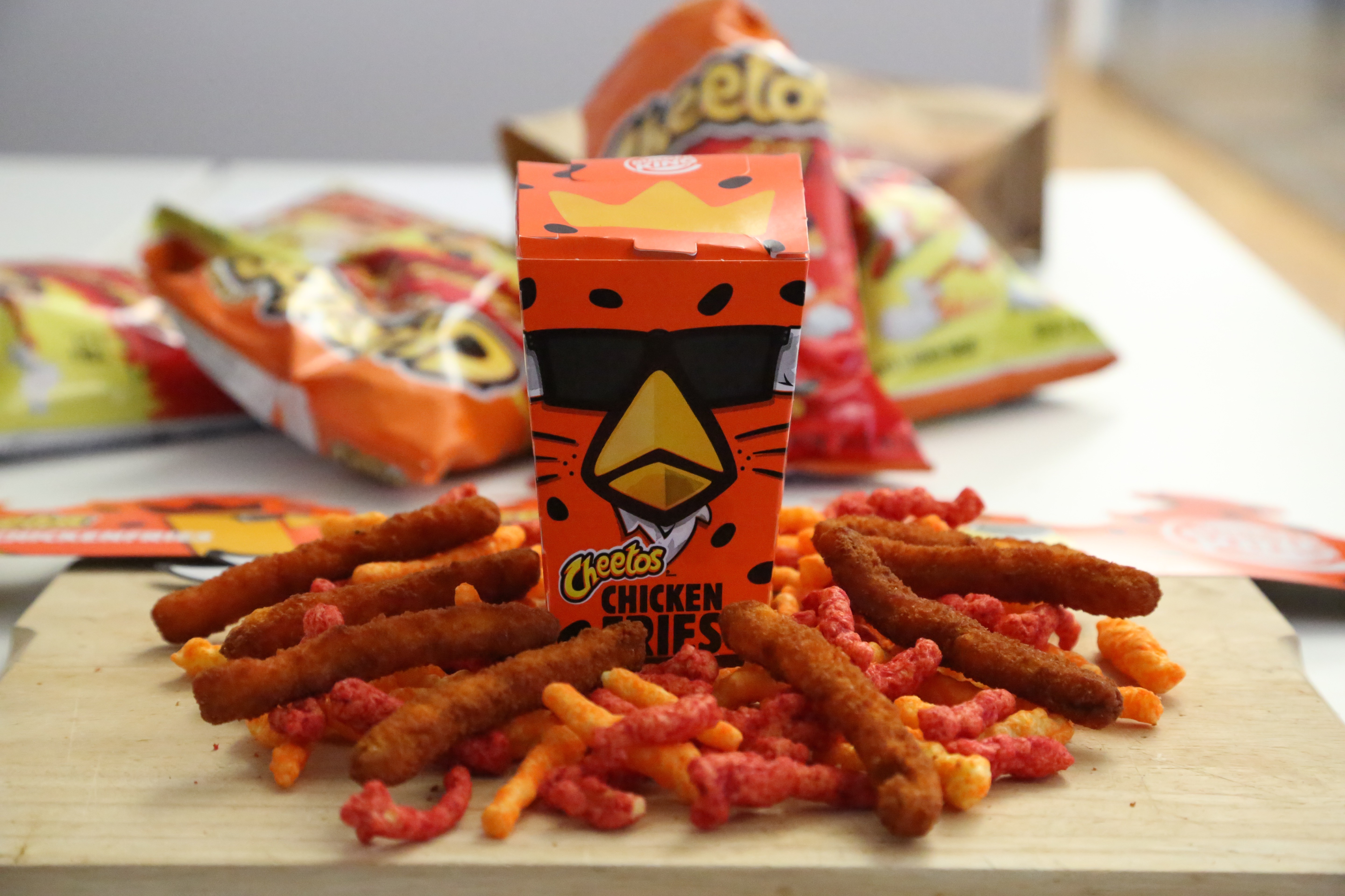 Cheetos Chicken Fries™ Are America's Bland, Corporate Future