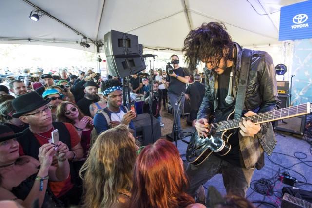 Reignwolf at Toyota Music Den