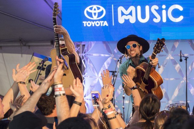 SaintMotel at Toyota Music Den