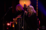 Video: Stevie Nicks Performs a Don Henley-Less &#8220;Leather and Lace&#8221; on <em>Corden</em>