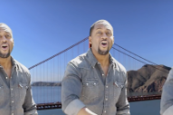 "Here's MC Hammer, Joe Montana and Jaleel White Singing ""Hip to Be Square"" in a California State Senate Campaign Ad"