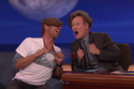 "Conan and Chris Martin Singing Coldplay's ""Yellow"" in Cockney Accents Is Very Amusing"