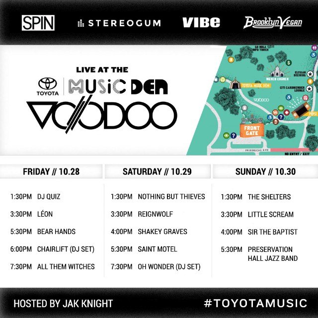 SPIN at Voodoo Music + Arts Experience 2016: Toyota Music ...