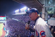 "Cubs Fan Bill Murray Sang ""Take Me Out to the Ballgame"" at the World Series"
