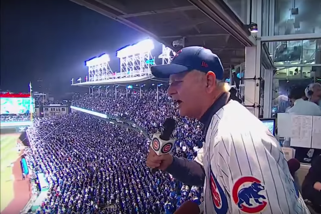 bill murray take me out to the ballgame