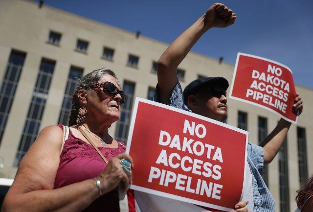 Sioux Tribe Rallies For Environmental Review Of Dakota Access Pipeline In DC